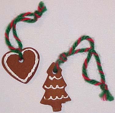 Recipes  Cinnamon Applesauce Dough Ornaments Gingerbread