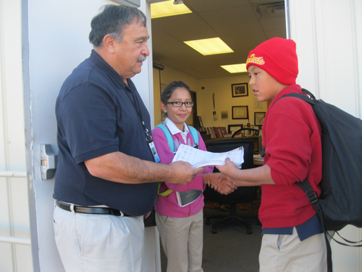 Harry rosemary wong effective teaching teachers gazette darrell cluck on the left is a middle school teacher in monroe louisiana he greets his students each period as they enter the classroom m4hsunfo